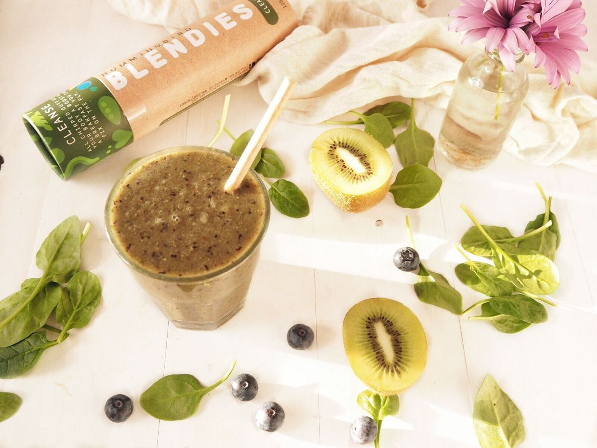 Recipe of the Week: Kiwi and Blueberry Smoothie
